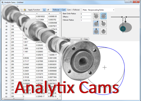 Analytix Cams :: Mechanical Engineering Software :: Saltire Software